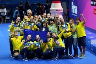 Историческое достижение. Украина стала первым чемпионом в новой дисциплине синхронного плавания на ЧМ