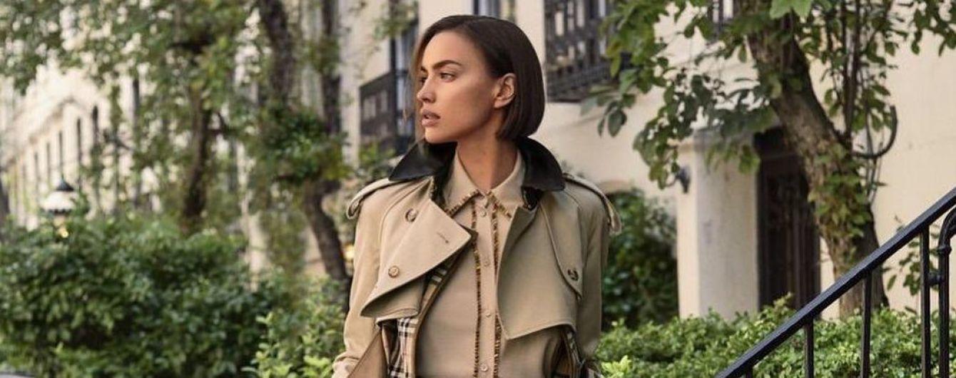 В латексі і стильному тренчі: два модних аутфіта Ірини Шейк