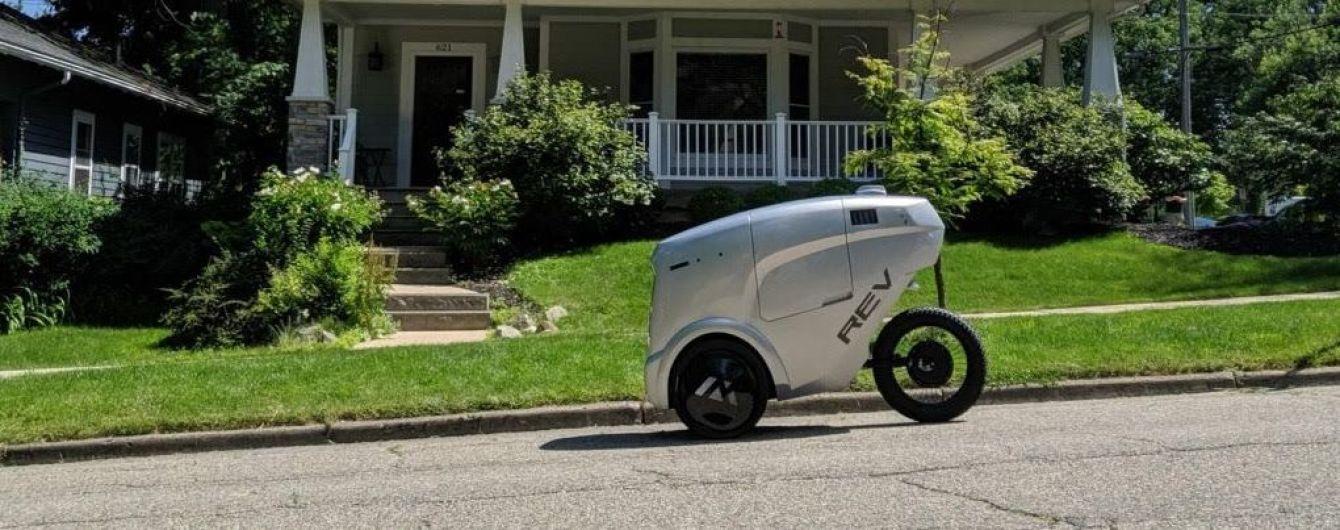 Стартап Refraction предлагает выпустить беспилотных роботов на велодорожки