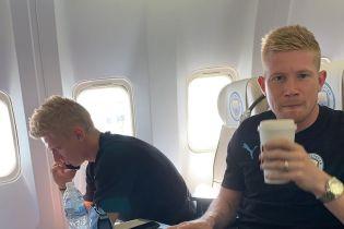 """""""Манчестер Сити"""" с Зинченко наконец-то отправился в Китай после двух перенесенных рейсов"""