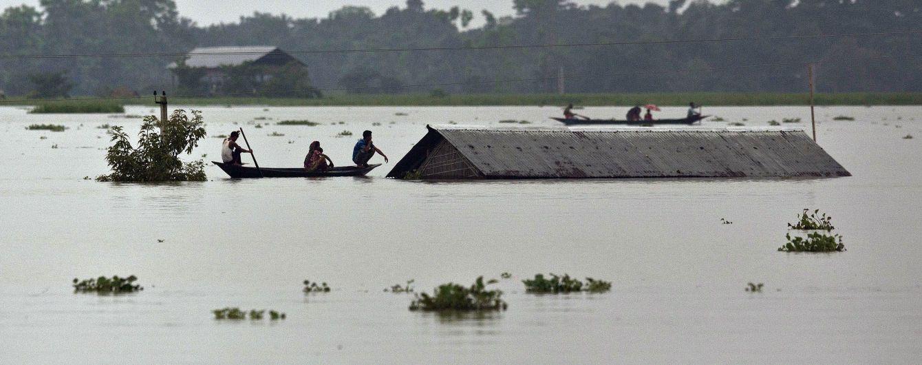 Наводнения в Южной Азии: число погибших возросло до 130 человек