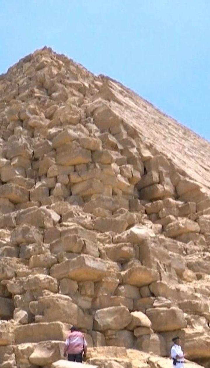 Під Каїром учені відкрили для туристів відбудовану Ламану піраміду