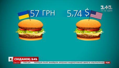 Индекс Биг-Мака: сколько должен стоить доллар в Украине