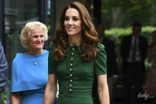 Выбираем лучший: три стильный образа герцогини Кембриджской на Уимблдоне