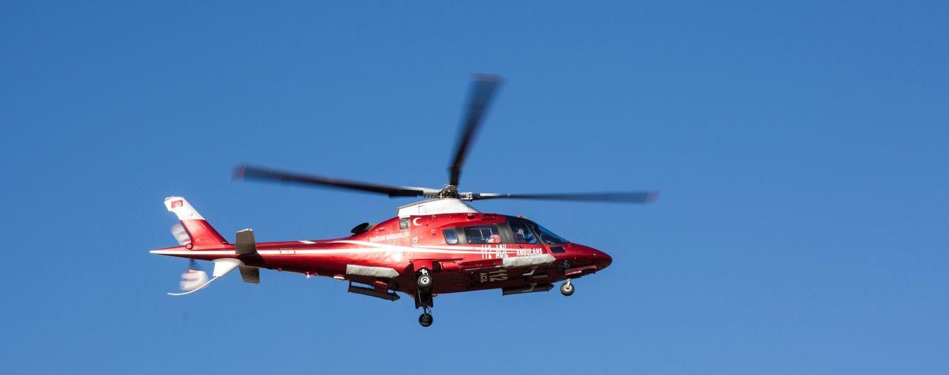 В Греции упал в море вертолет с россиянами