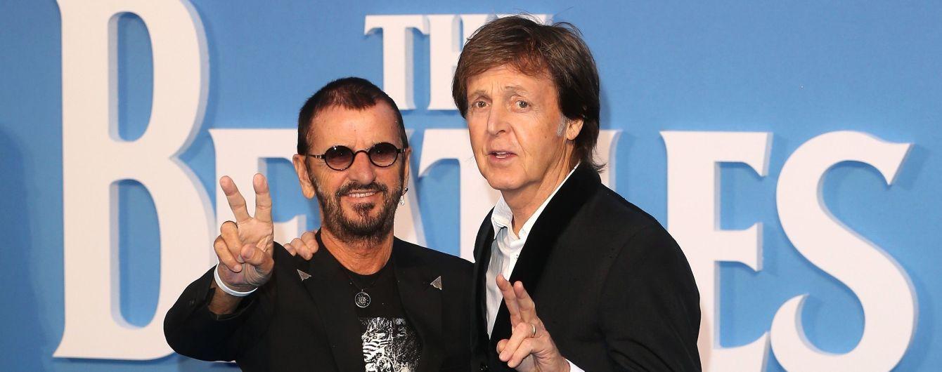 Экс-участники The Beatles Пол Маккартни и Ринго Старр выступили вместе в Лос-Анджелесе