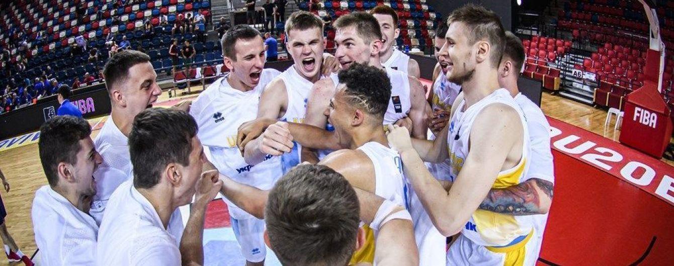 Сборная Украины с последнего места в группе вышла в плей-офф молодежного Евробаскета