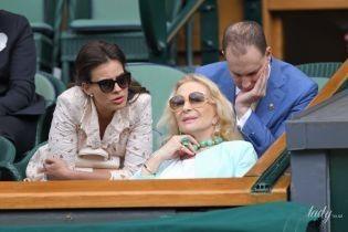 В роскошном колье из бирюзы: принцесса Майкл Кентская в эффектном образе на спортивном мероприятии