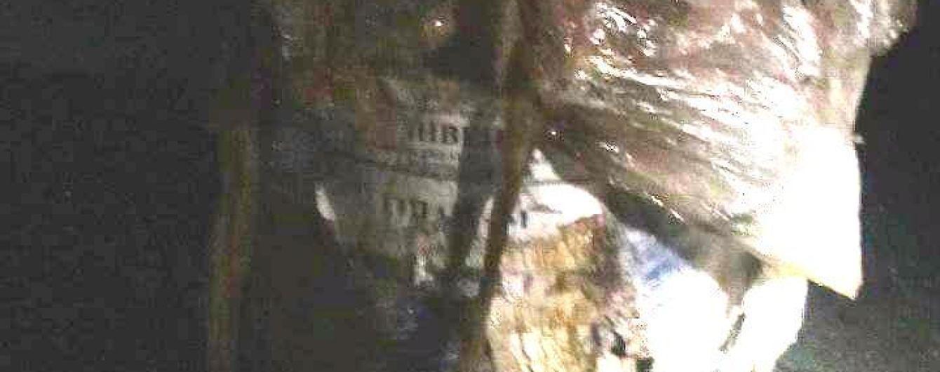 80 литров химикатов вытекло на дорогу в Запорожской области