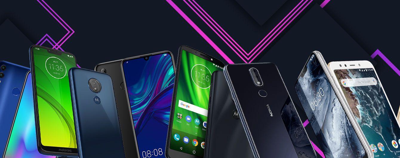 Honor, Motorola и Xiaomi. Лучшие бюджетные смартфоны 2019 года