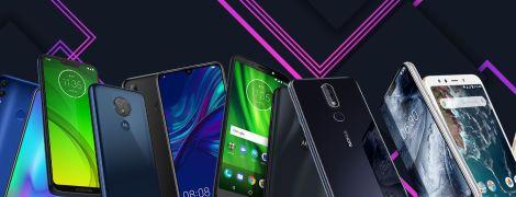 Honor, Motorola та Xiaomi. Найкращі бюджетні смартфони 2019 року