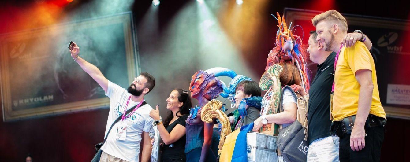 Победы украинцев на World Bodypainting Festival