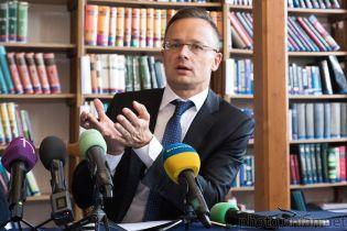 У Зеленского назвали недопустимым агитационный визит главы МИД Венгрии на Закарпатье
