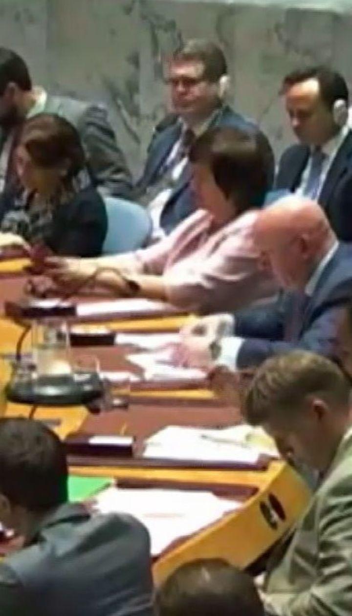 Рада безпеки ООН не ухвалила рішення щодо українського закону про мову