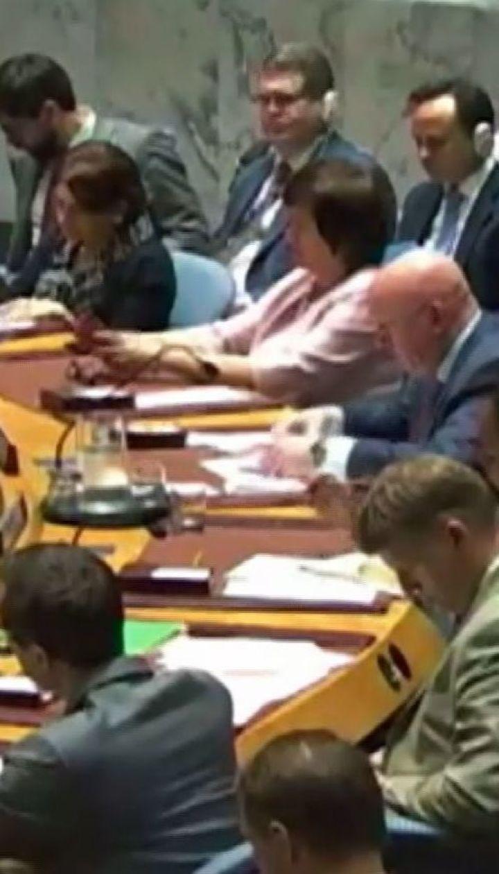 Совет безопасности ООН не принял решение относительно украинского закона о языке