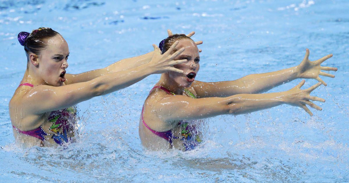Артистическое плавание на ЧМ-2019 в Кванджу @ Associated Press