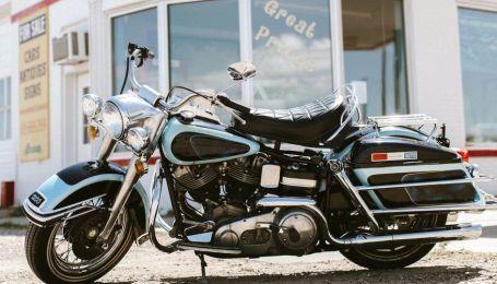 Останній мотоцикл Елвіса Преслі пустять з молотка