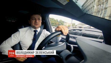 """""""1+1"""" покажет интервью Зеленского о двух месяцах на посту президента"""