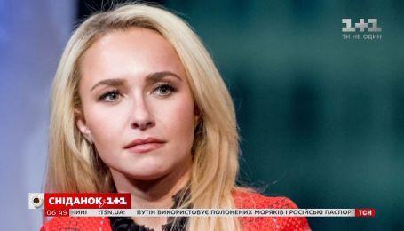 Актриса Хайден Панеттьери простила бойфренду побои и синяки