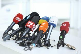 Журналистов не пустили в ложу прессы Рады
