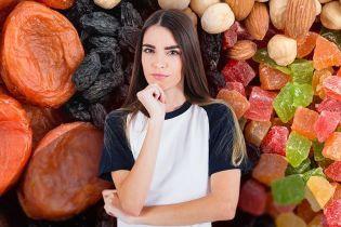 Чи можна їсти сухофрукти тим, хто худне?