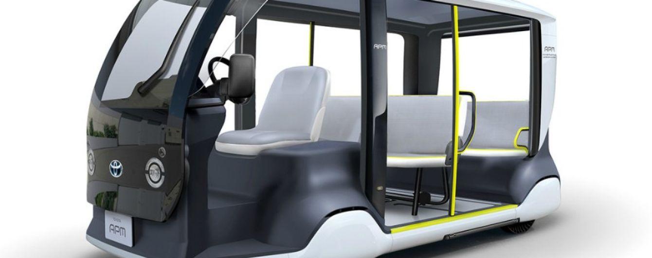 Toyota создает электрокары для Олимпийских игр 2020 года