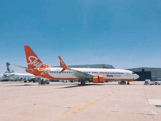 SkyUp відкриває рейси зі Львова, Запоріжжя та Харкова до ОАЕ