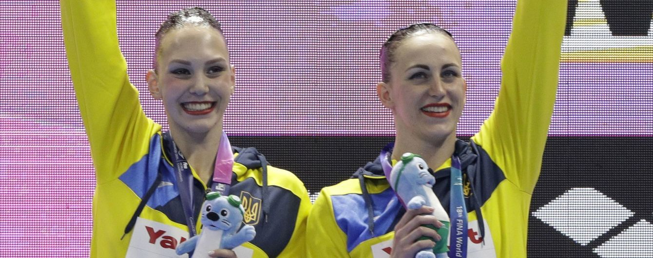 Украинские синхронистки выиграли четвертую медаль на ЧМ-2019