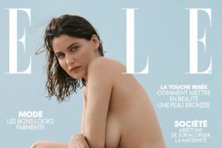 41-летняя супермодель Летиция Каста снялась полностью обнаженной для известного глянца
