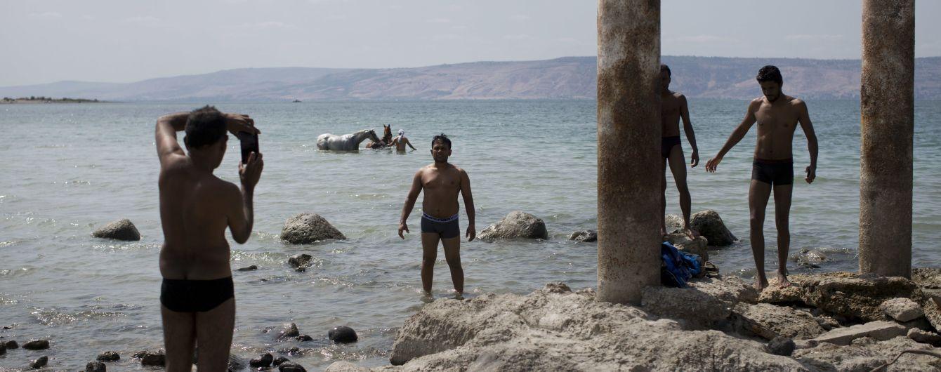 Как на сковородке. В Израиле столбики термометров достигли почти 50 градусов