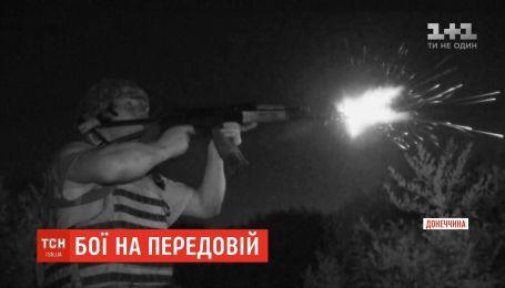 На участке передовой у Азовского моря каждую ночь продолжаются ожесточенные бои из стрелкового оружия