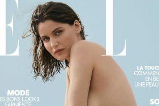 Смелый ход: модель Летиция Каста снялась полностью обнаженной для французского глянца