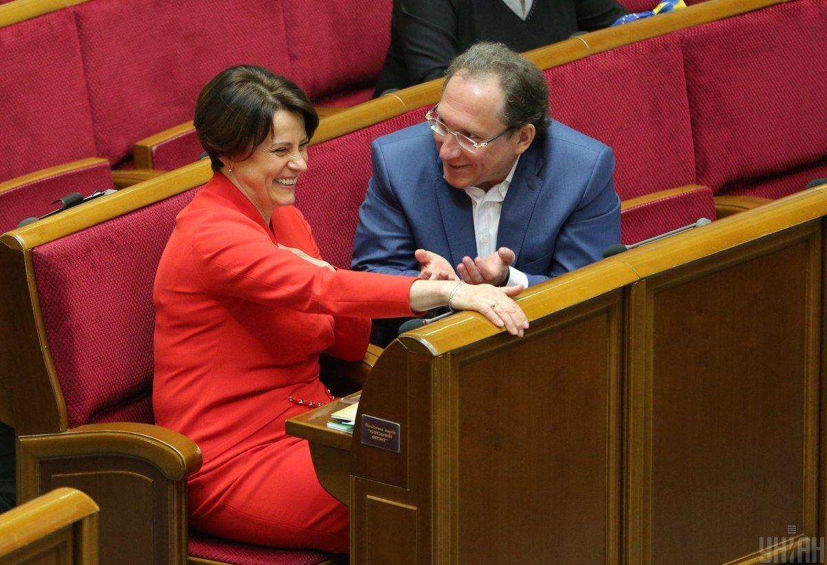Олег Кришин і Ніна Южаніна