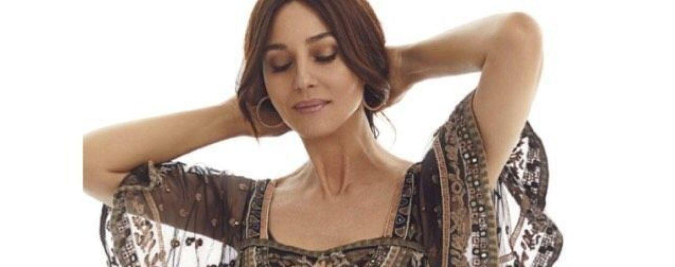 54-летняя Моника Беллуччи в женственном образе снялась для известного глянца