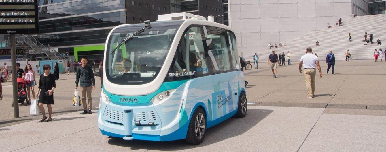 В Австрии беспилотный автобус наехал на пешехода