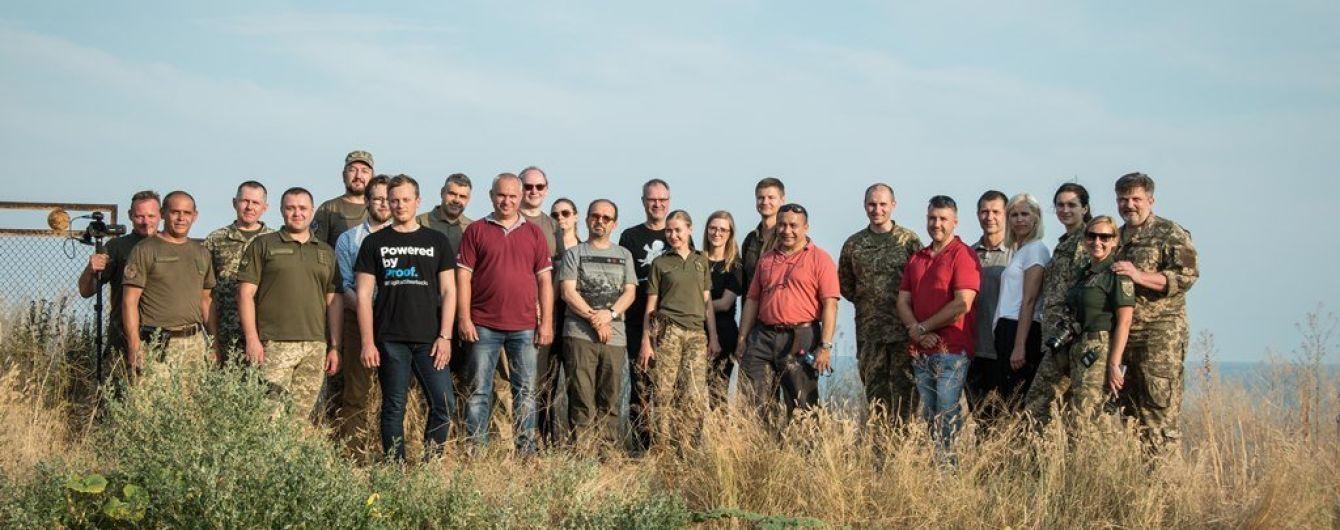 Експерти НАТО відвідали зону ООС