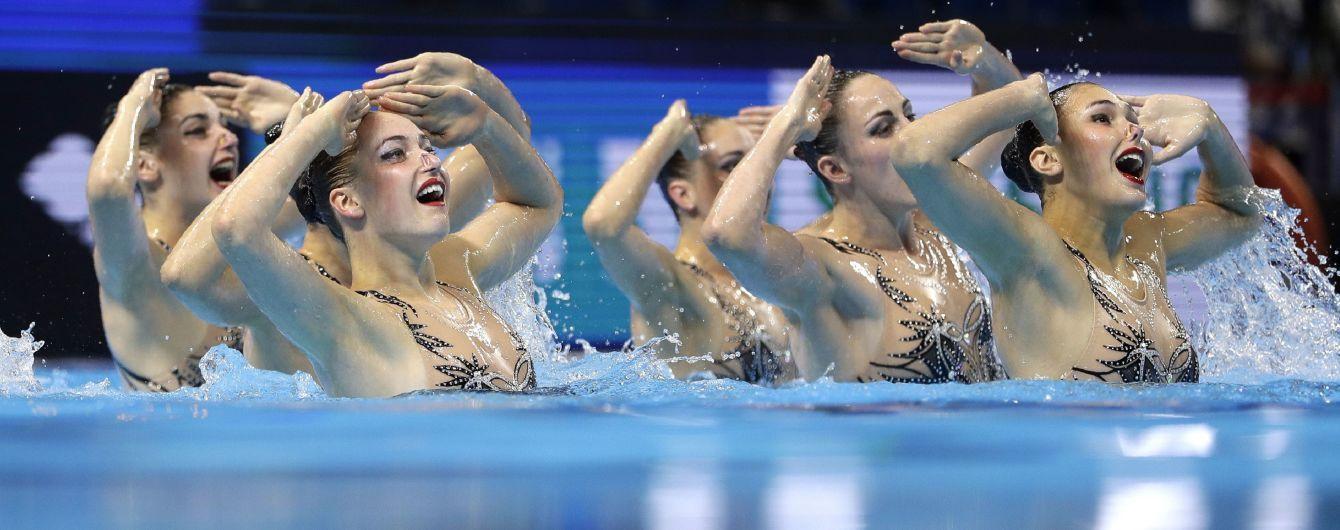 Українки виграли шосту медаль в артистичному плаванні на Чемпіонаті світу у Кванджу