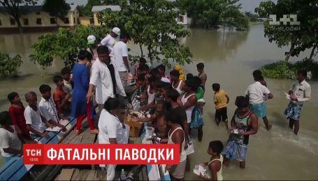 Понад сто людей стали жертвами потужних повеней в Індії, Непалі та Бангладеш