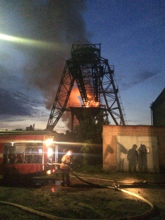 У Києві на території ТЕЦ спалахнула пожежа