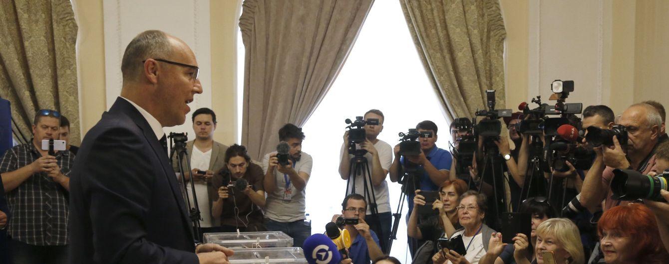 Лидеры партий пришли на участки и рассказали за кого и что голосовали