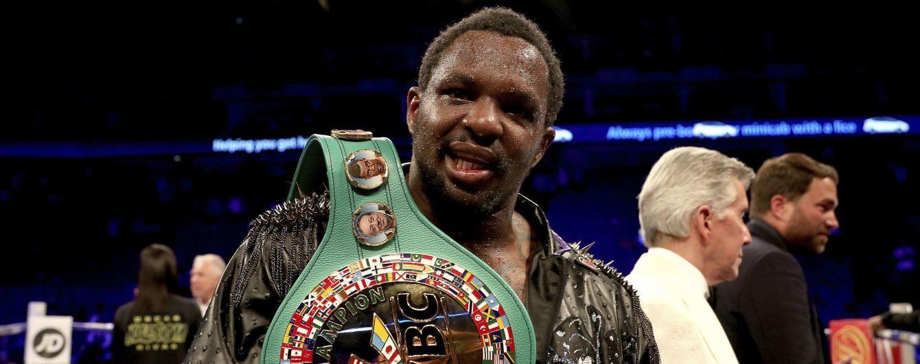 """Британський """"Викрадач трупів"""", який постійно критикує Усика, став """"тимчасовим"""" чемпіоном WBC"""