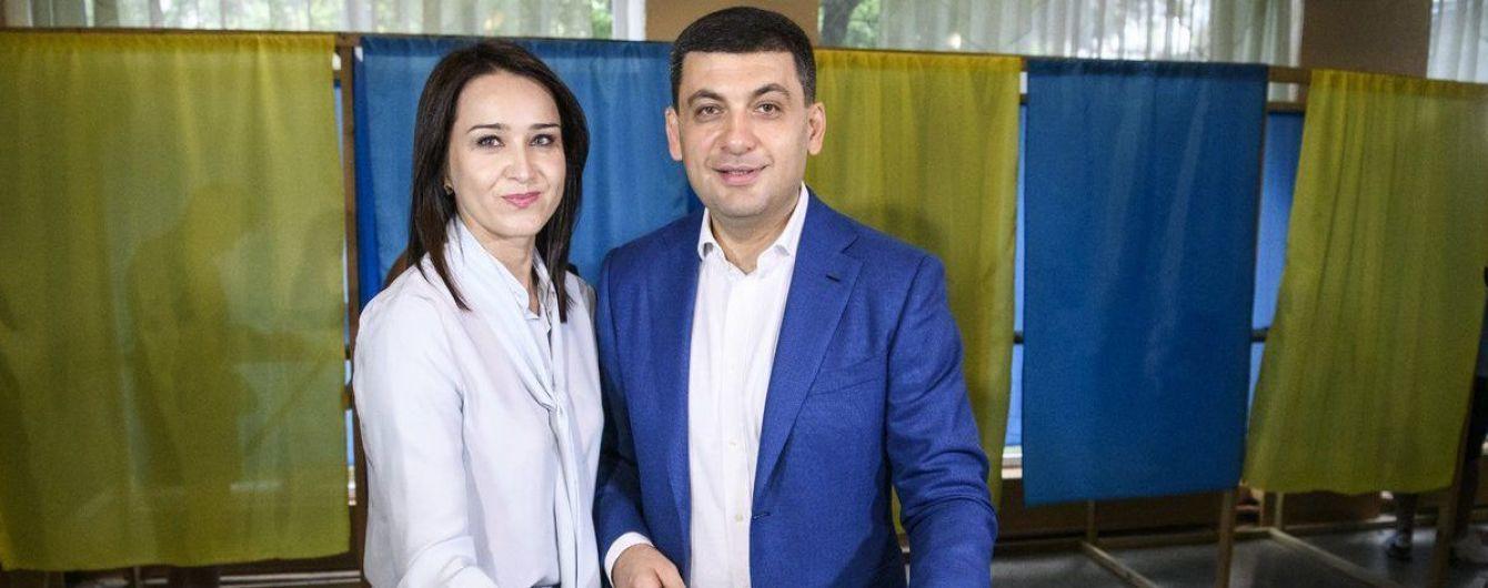 Гройсман в Виннице проголосовал на парламентских выборах
