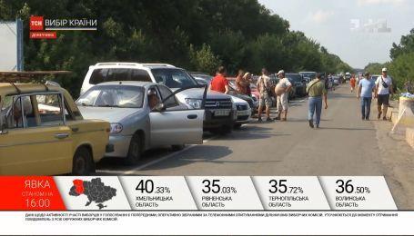 Выборы в ООС. Военные преодолевали десятки километров к гражданским избирательным участкам