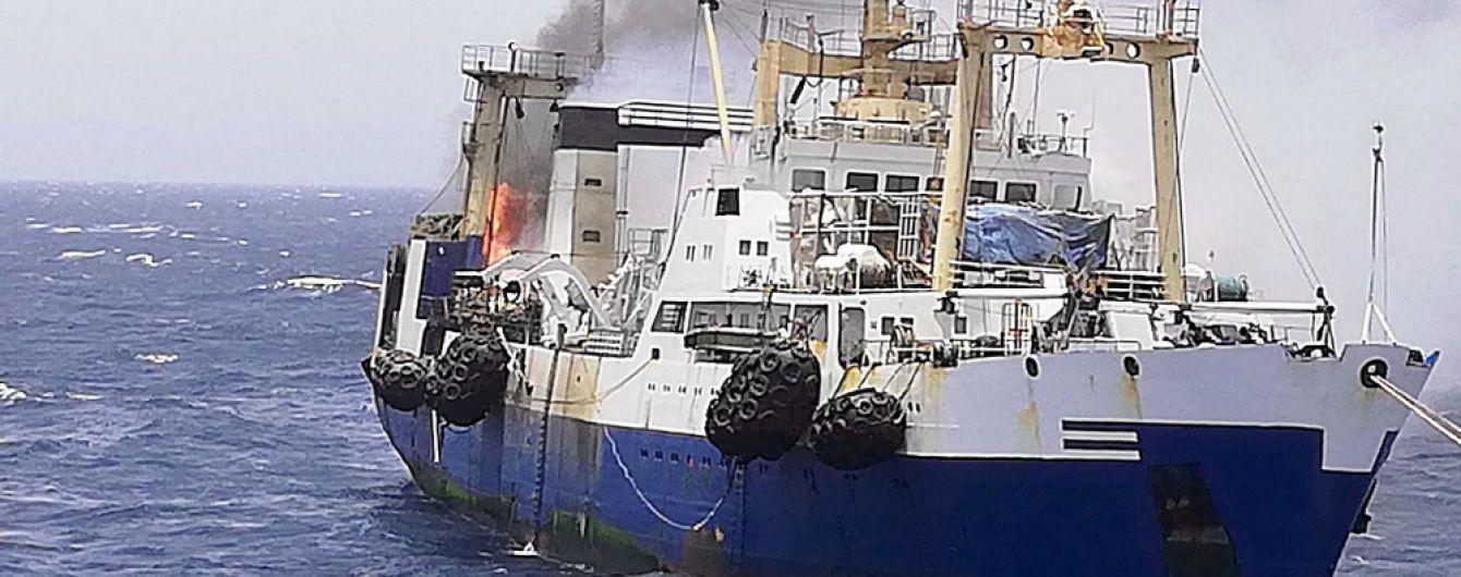 Згорів і потонув. Унаслідок трагедії на українському судні біля Мавританії загинули двоє людей