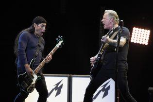 Metallica виконала відому пісню Віктора Цоя російською мовою