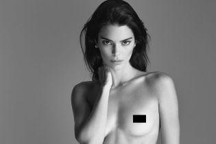 Вот это красотка: Кендалл Дженнер полностью без одежды снялась в новом фотосете