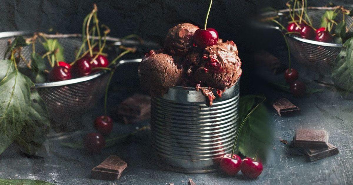 Шоколадно-вершкове морозиво за 5 хвилин