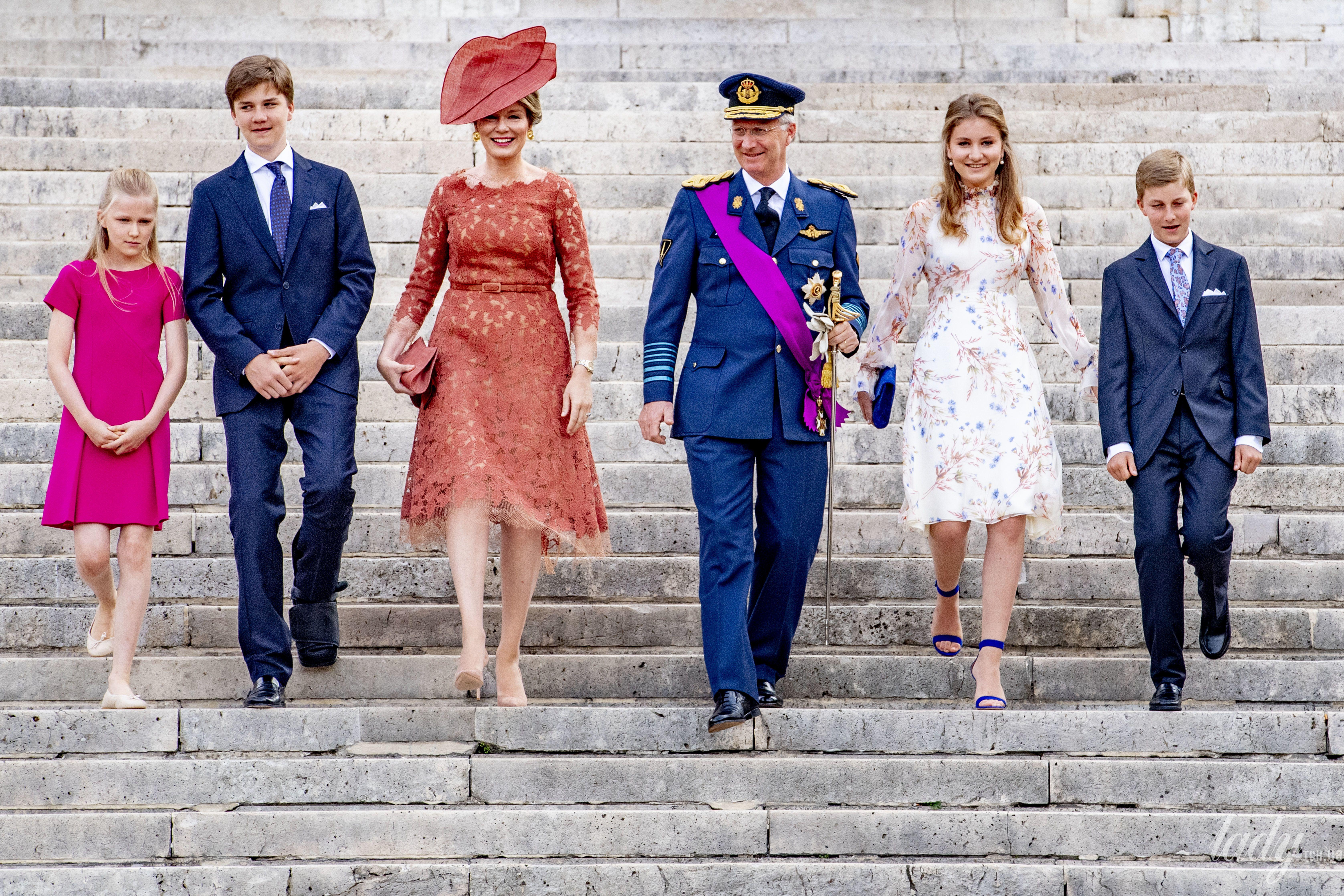 Бельгийская королевская чета_1