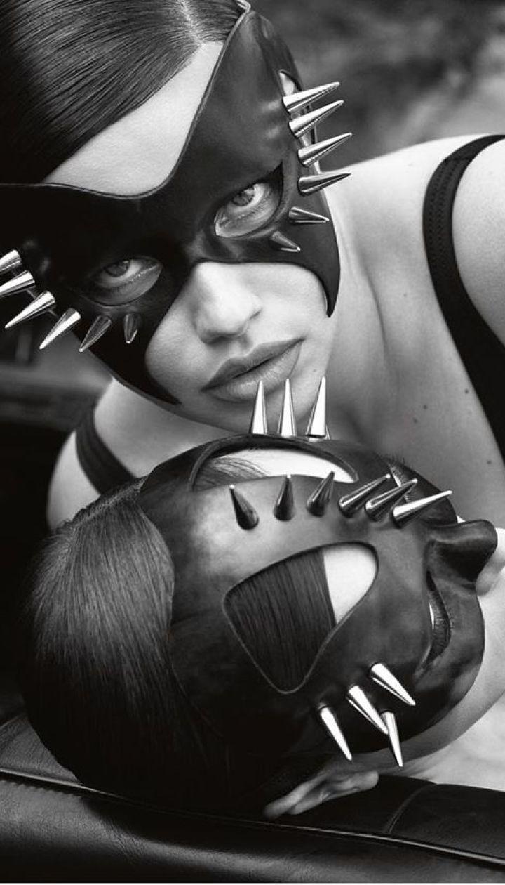 Ірина Шейк і Адріана Ліма в фотосеті для іспанського Vogue
