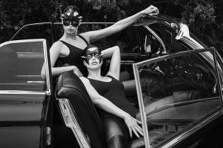 В кожаных масках и сексуальных боди: красотки Шейк и Лима предстали в пикантной съемке